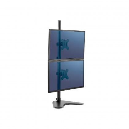 Freistehender vertikaler Doppel Monitorarm Professional Series™ Art. 8044001