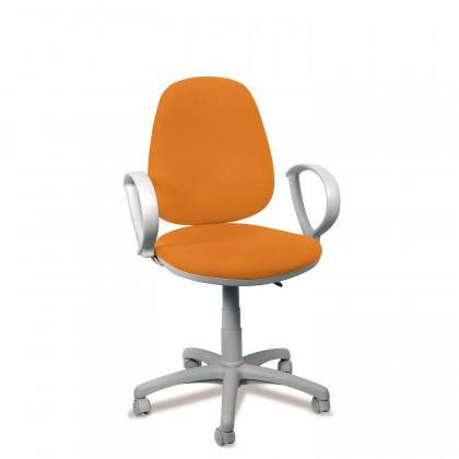 BürodrehstuhlBug grey 102 mitArmlehnen