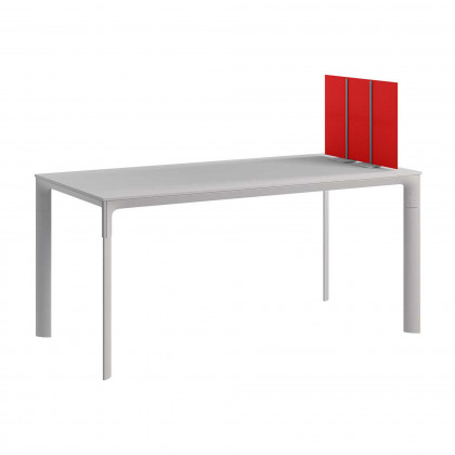 Doppelseitige schallabsorbierende tischplatte mod. Tetrix Desk Free H. 40