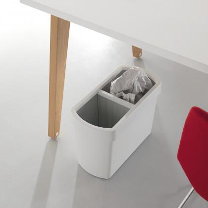 Papierkorb für die Mülltrennung Mod. DIVIDO