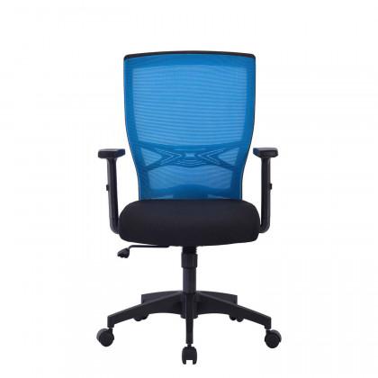 Bürodrehstuhl Ettore mit höhenverstellbaren Armlehnen