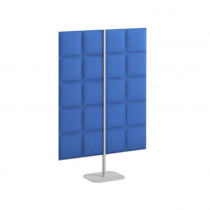 Zweiseitiges Schallabsorbierendes Paneel Mod. Tetrix Free Standing H. 120