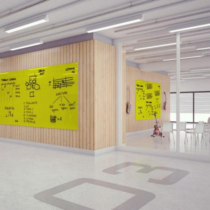 Tafel Vertical Plan-90 x 120- Limette