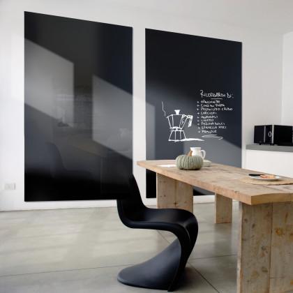 Tafel Vertical Plan -120 x 200- Schwarz