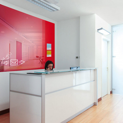Tafel Vertical Plan-120 x 200- Red