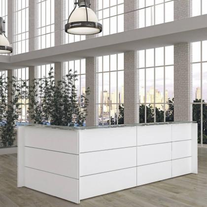 Doria Reception – Deckplatte Holz