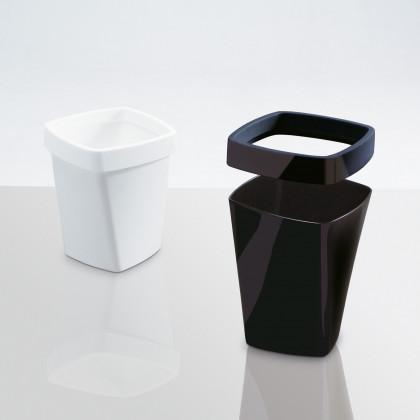 Müllbeutel-Halterung ausglänzend Technopolymer Mod. SWING 3
