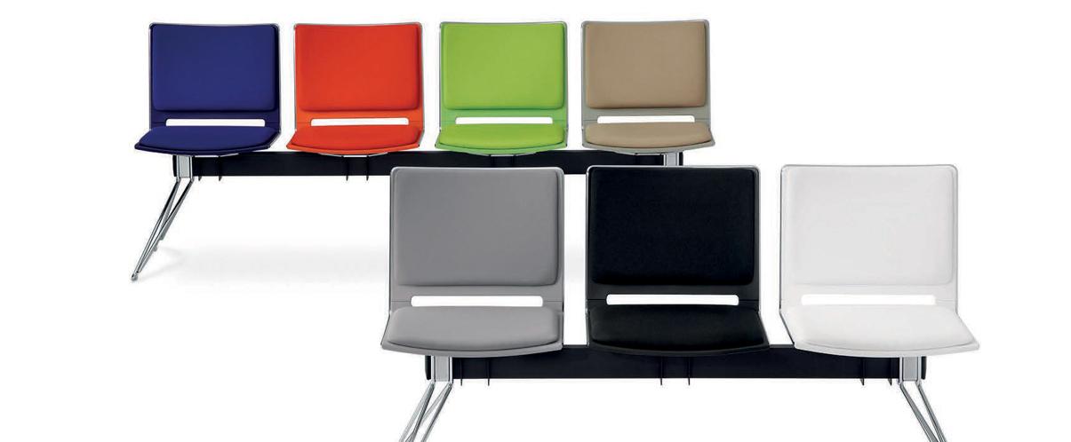 Panche e tavolini per zone attesa sedie ufficio for Tavolini per ufficio