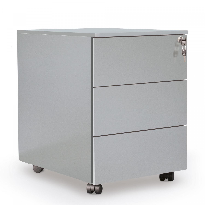 Cassettiera metallica grigio for Cassettiere ufficio