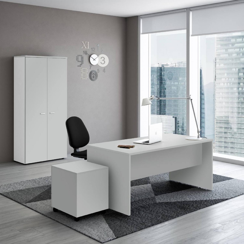 Ufficio completo new rossana con cassettiera libreria e for Ufficio completo