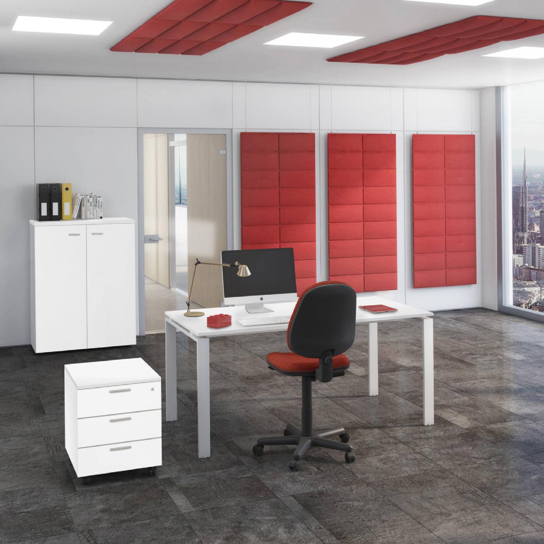 Ufficio completo doria con armadio medio seduta e for Ufficio completo