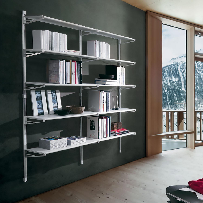 Librerie Metallo Milano.Libreria In Metallo Socrate Mod Scr39 Bo