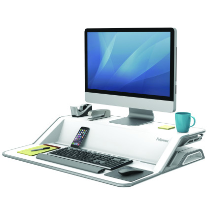 Sit-Stand Lotus™ Workstation art. 0007901 nero  art. 0009901 bianco
