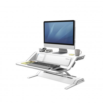 Sit-Stand Lotus DX™ Workstation bianco art. 8081101