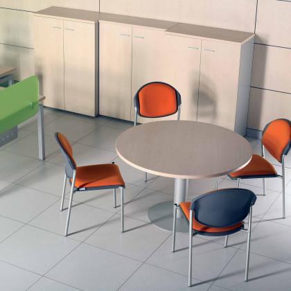 Tavolo riunione circolare Brera