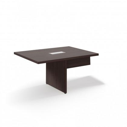 Allungo per tavoli riunione modulari con gambe a pannello Brera 2.0