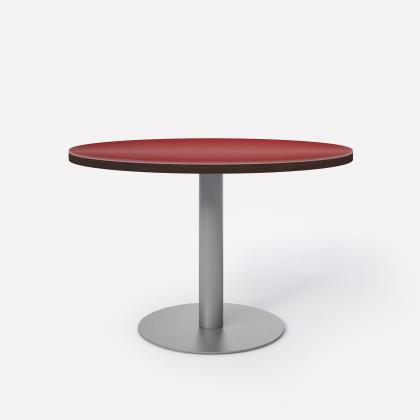 Tavolo riunione circolare Brera Glass