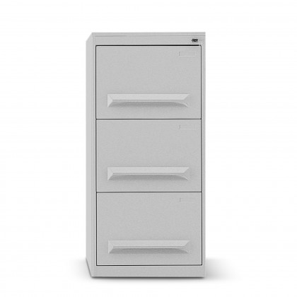 Classificatore metallico a 3 cassetti con maniglia stampata