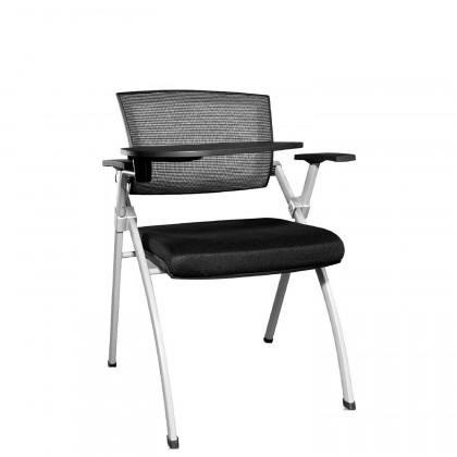 Sedia con braccioli tavoletta e sedile ribaltabile Query Tavo