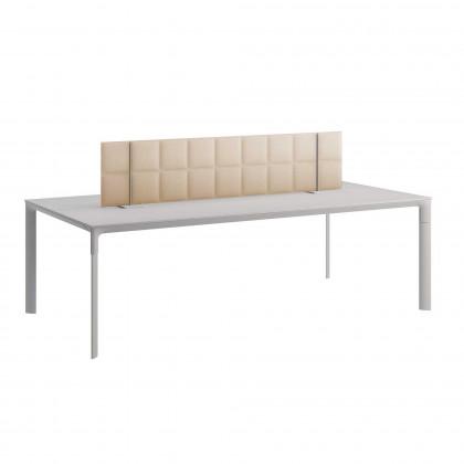 Pannello fonoassorbente bifacciale per tavoli riunione mod. Tetrix Meeting table Desk Free  H. 40