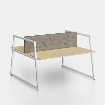 Bench Fusion screen con elastici ad X