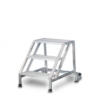 Sgabello standard fisso 45° alluminio