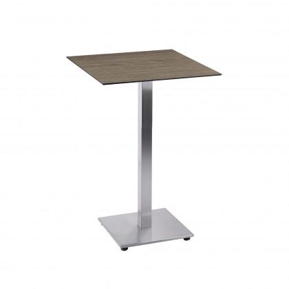 Tavolino completo H 109 composto da base Tetra e piano Sweden Touch