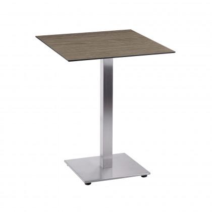 Tavolino completo H 73 composto da base Tetra e piano Sweden Touch