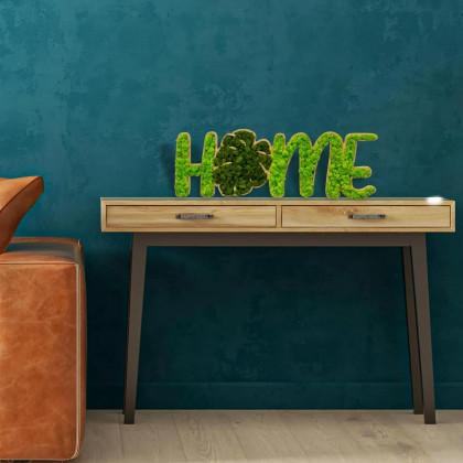 Scritta vegetale - Home