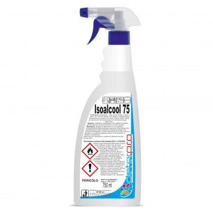 Isoalcol75 sanificante per scrivanie e mascherine Conf. 18 pz