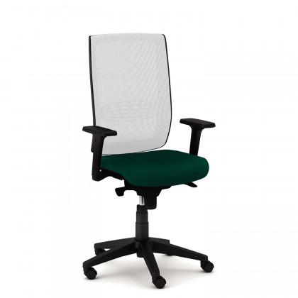 Seduta operativa Kind Rete con braccioli regolabili in altezza