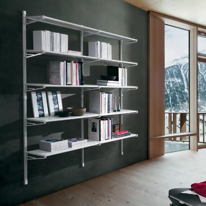 Libreria in metallo SOCRATE mod. SCR39-BO