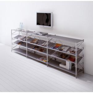 Libreria in metallo SOCRATE mod. SCR29-GM